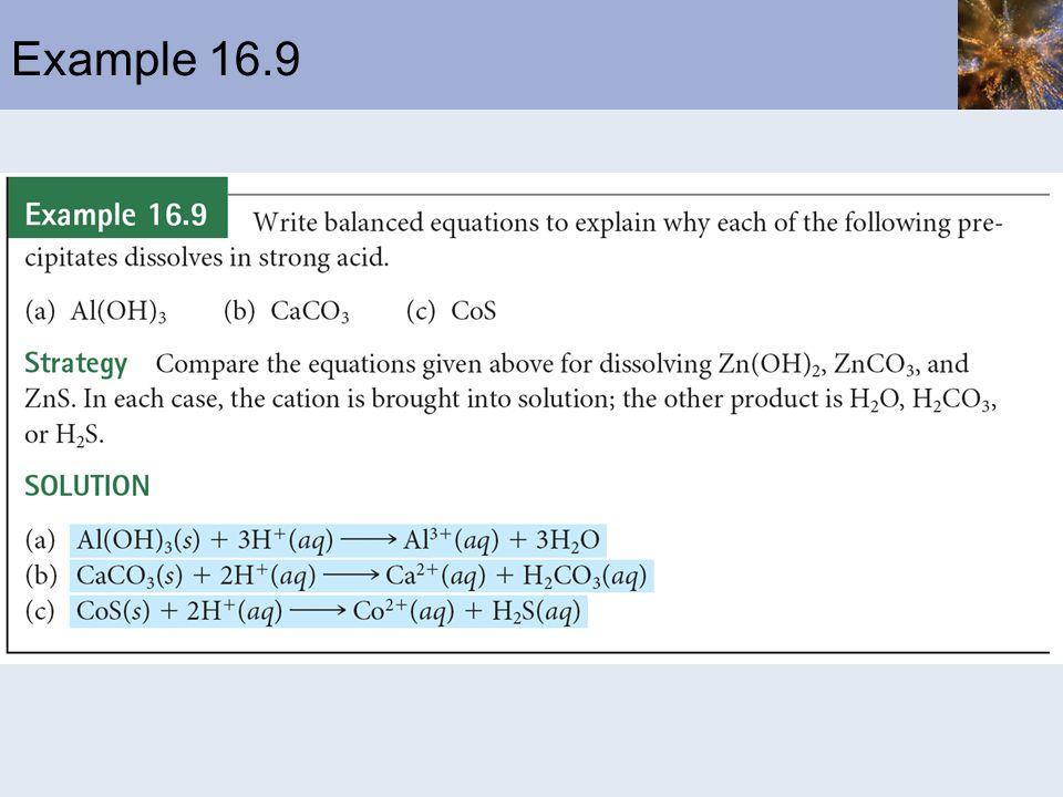 Example 16.9