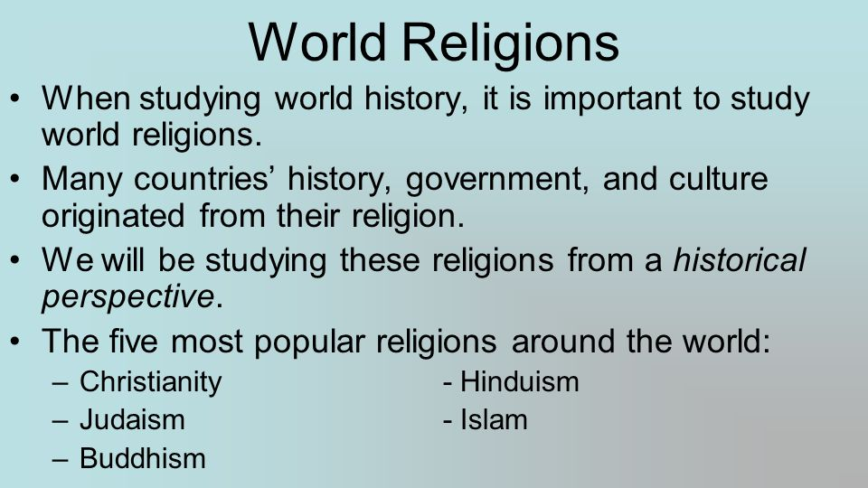 Bellwork for bellwork today you will be labeling a blank map of our 3 world religions gumiabroncs Choice Image