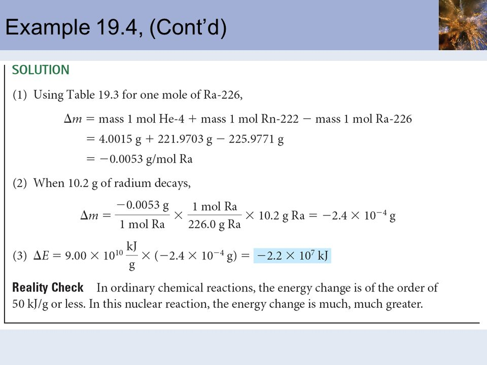 Example 19.4, (Cont'd)