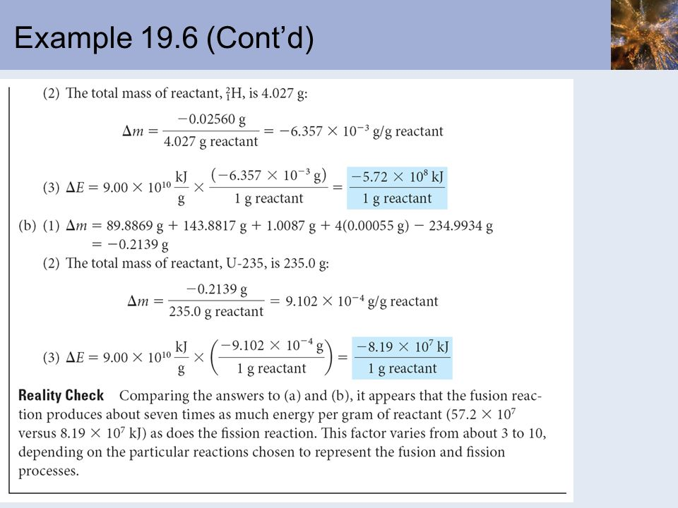 Example 19.6 (Cont'd)