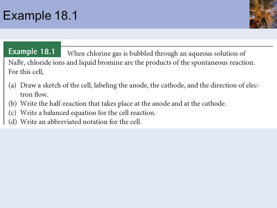 Example 18.1