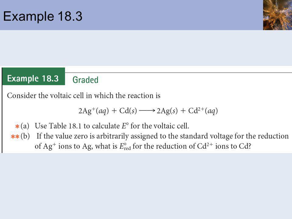 Example 18.3