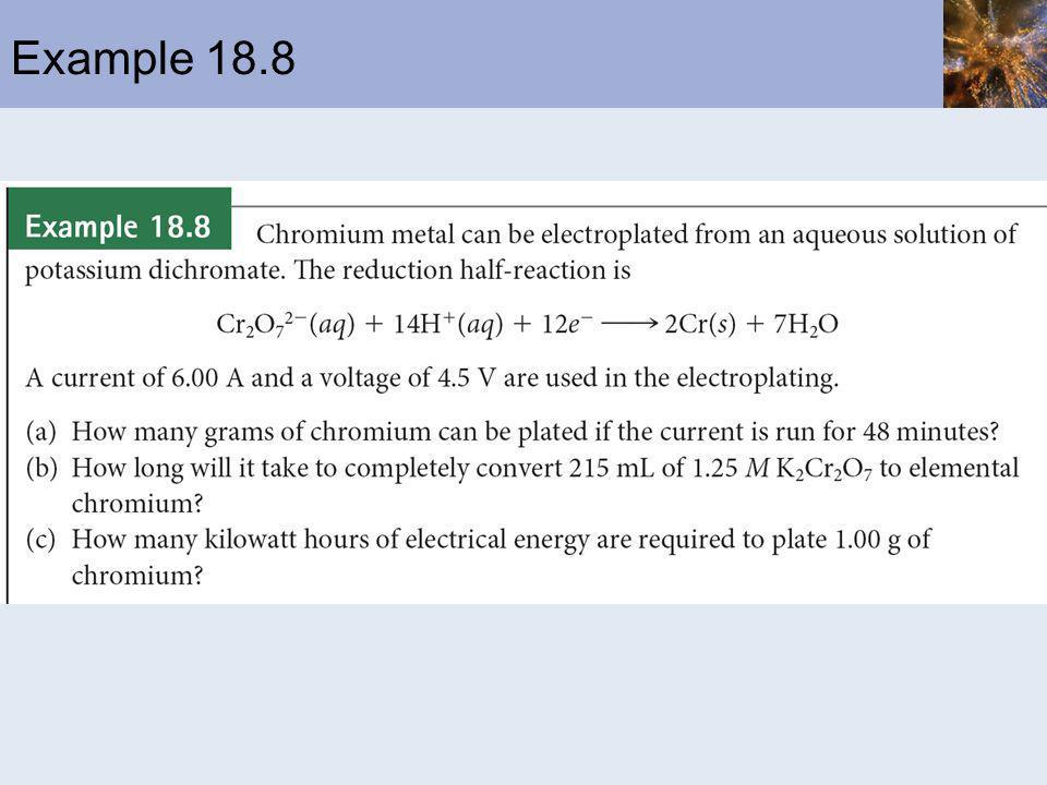 Example 18.8