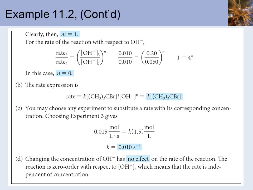 Example 11.2, (Cont'd)