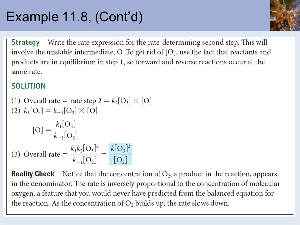 Example 11.8, (Cont'd)