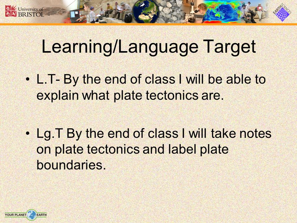 Learning/Language Target