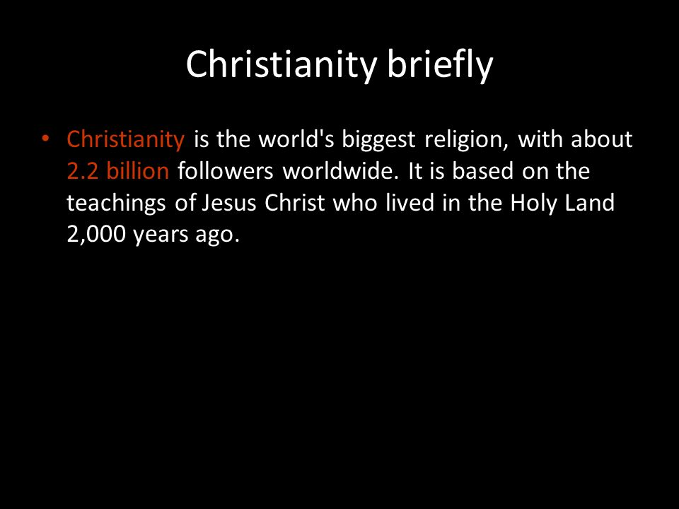 Three Major Monotheistic World Religions Ppt Download - Three biggest religions