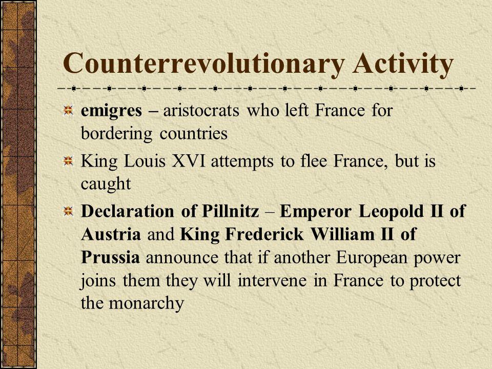 Counterrevolutionary Activity