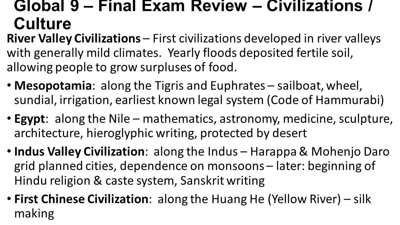 ap world final study guide