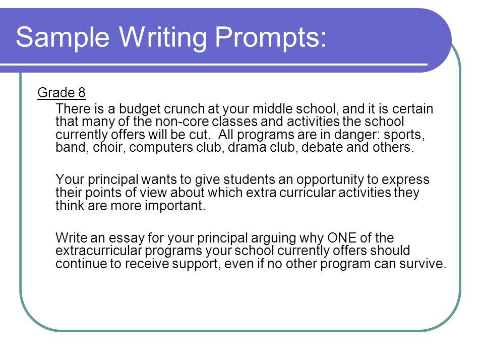 essay promps