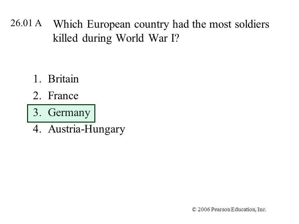 Britain France Germany Austria-Hungary