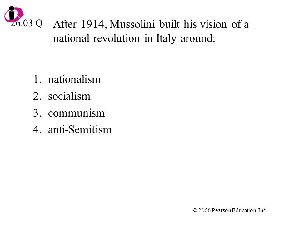 nationalism socialism communism anti-Semitism