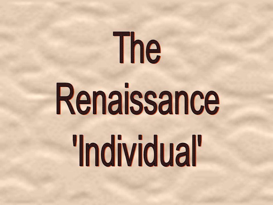 The Renaissance Individual