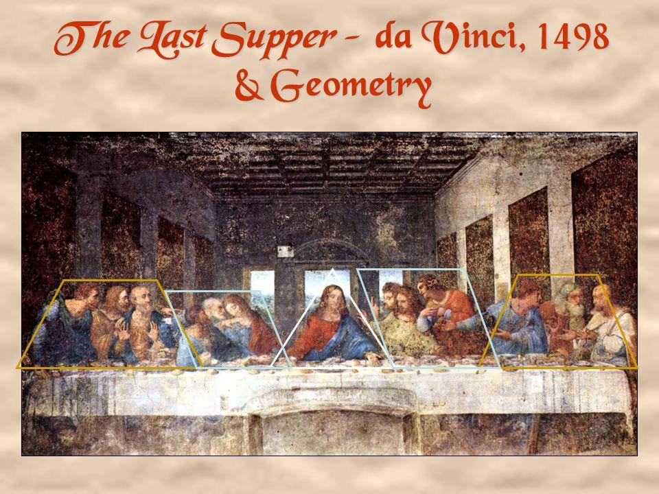 The Last Supper - da Vinci, 1498 & Geometry