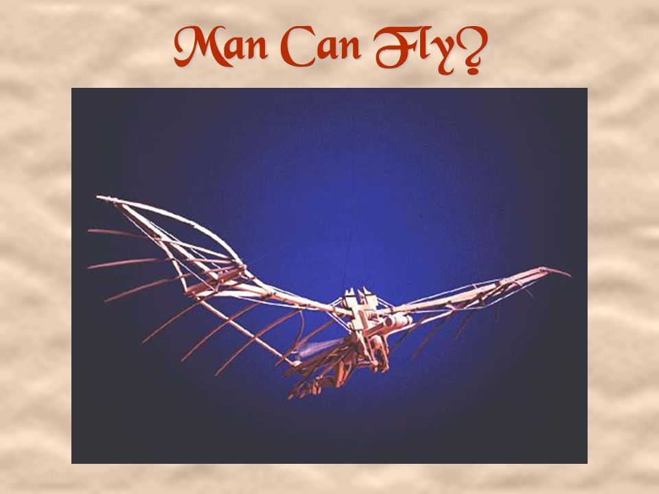 Man Can Fly