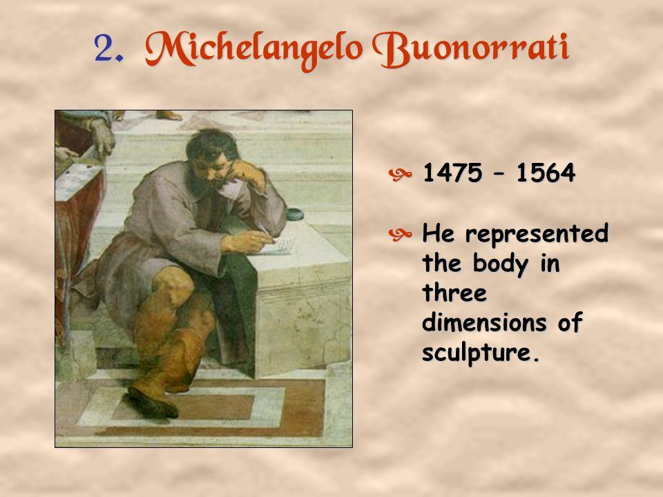 2. Michelangelo Buonorrati