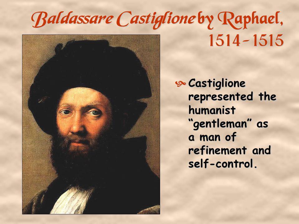 Baldassare Castiglione by Raphael, 1514-1515