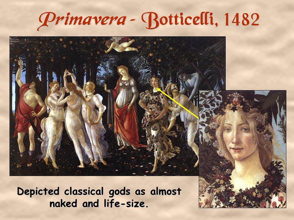Primavera – Botticelli, 1482