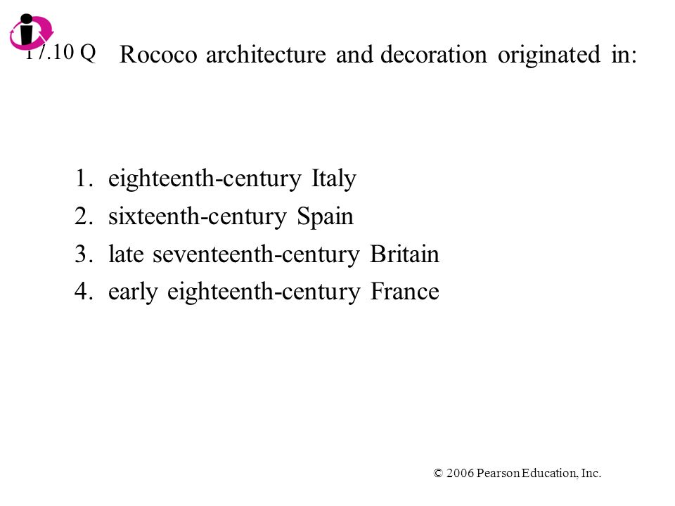 Rococo architecture and decoration originated in: