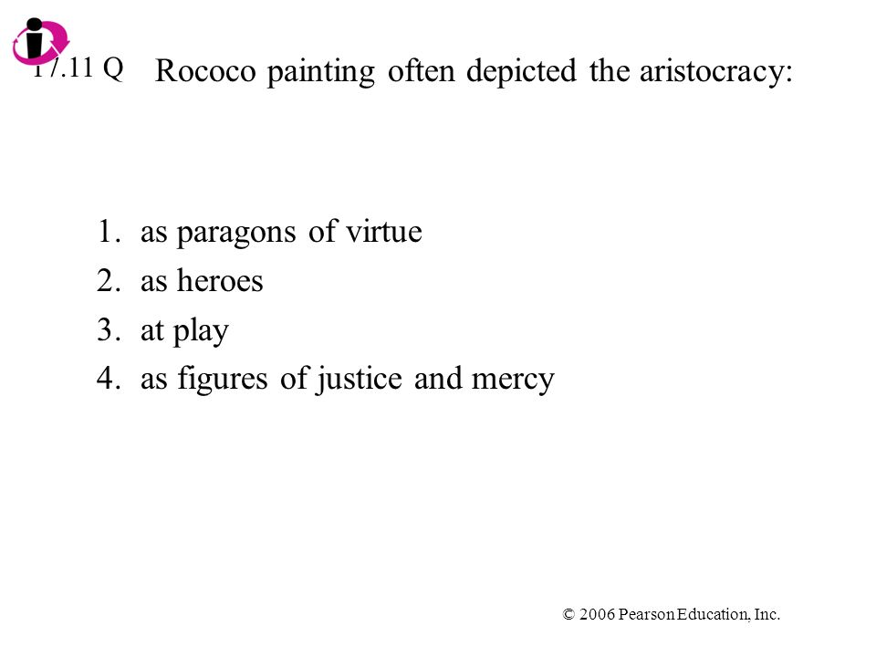 Rococo painting often depicted the aristocracy: