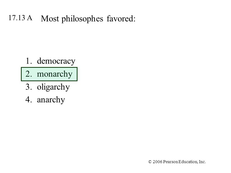 Most philosophes favored: