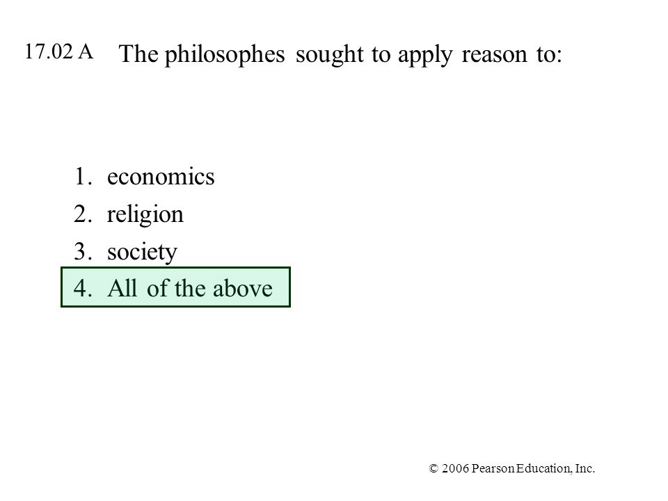 The philosophes sought to apply reason to: