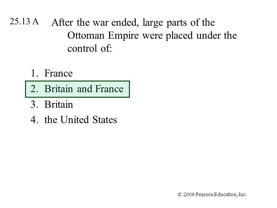 France Britain and France Britain the United States