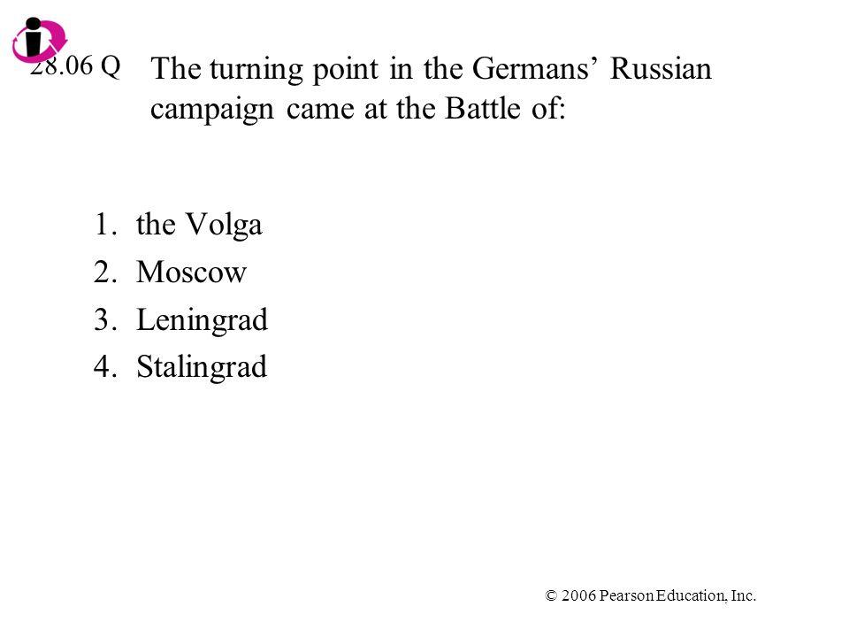 the Volga Moscow Leningrad Stalingrad