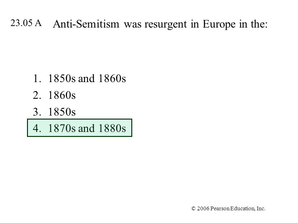 Anti-Semitism was resurgent in Europe in the: