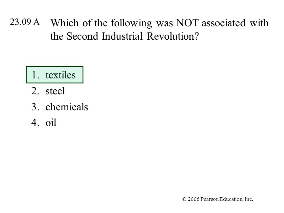 textiles steel chemicals oil