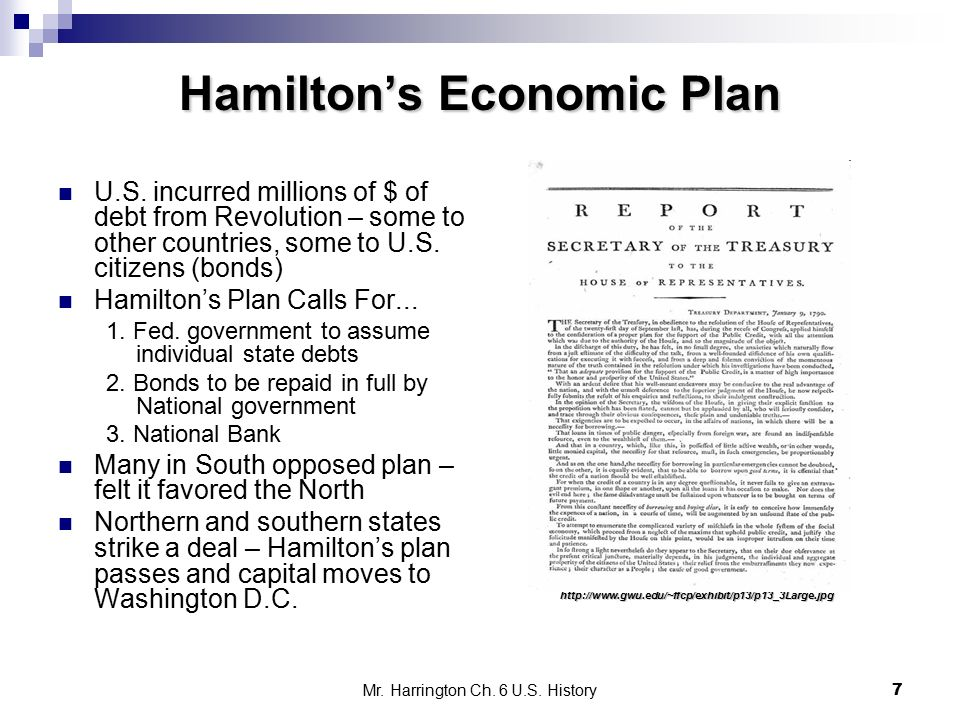 What Was Alexander Hamilton's Economic Plan?