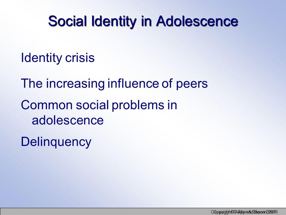 Social Identity in Adolescence