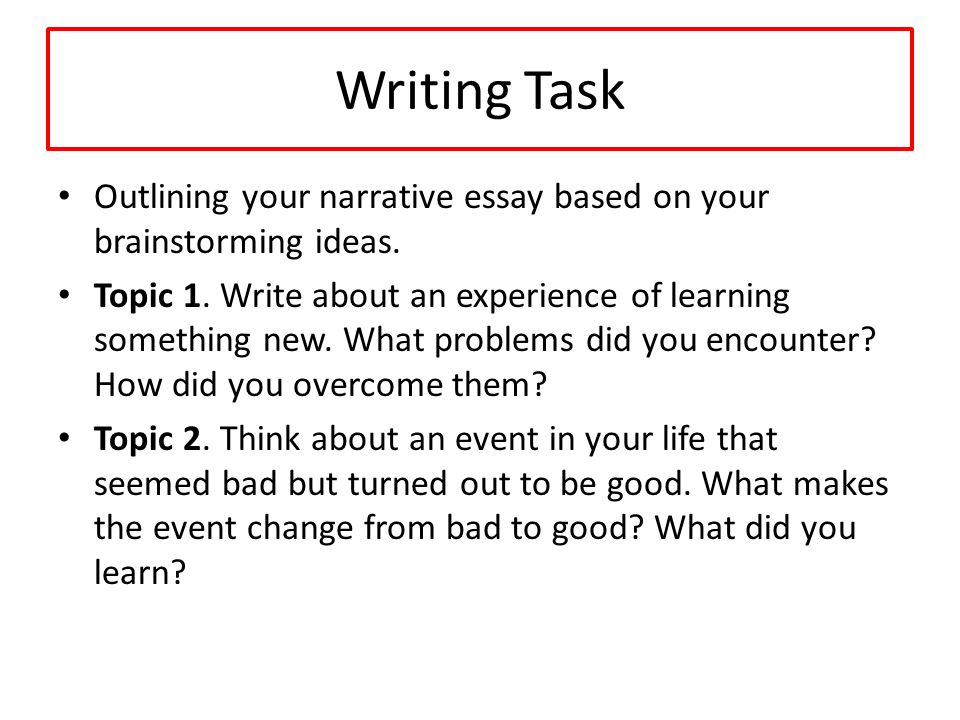 past narrative essay Which is better for fiction, past tense or present tense a look at options for narrative tense.