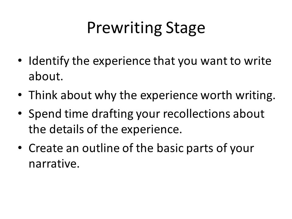 write a three paragraph narrative essay on a formative experience from your past The following narrative essay examples can help you get started writing your own narrative essay often about a personal experience.