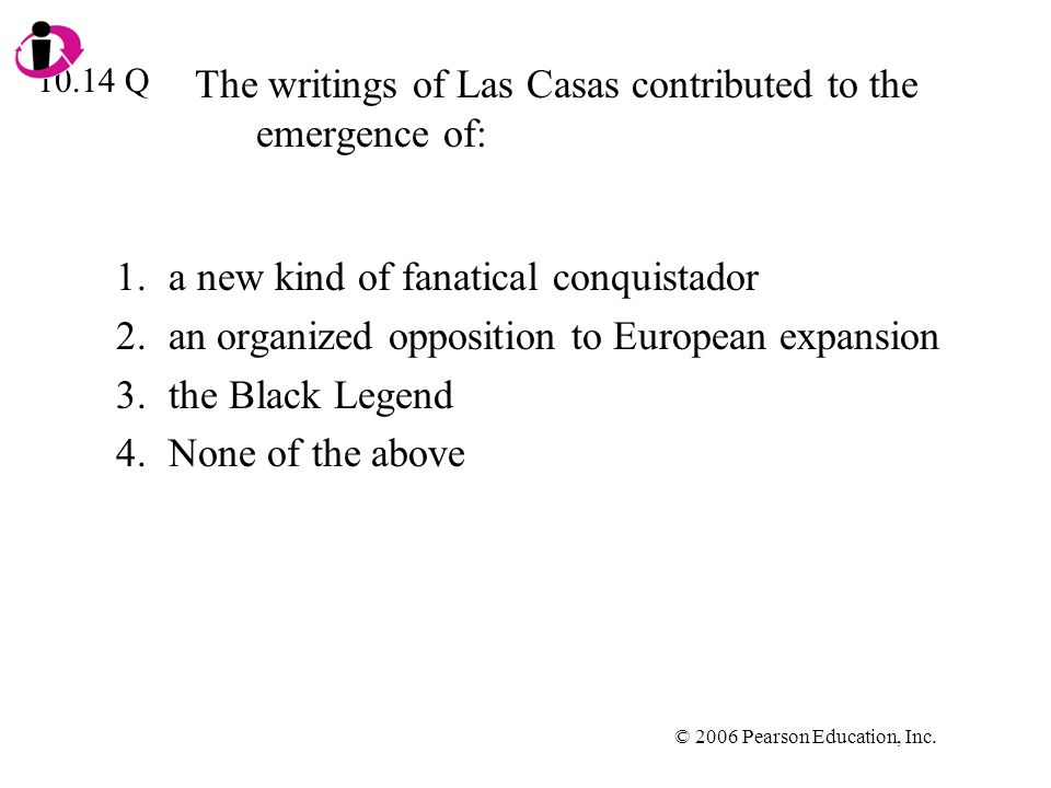 The writings of Las Casas contributed to the emergence of: