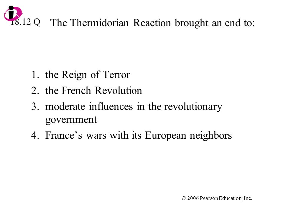 The Thermidorian Reaction brought an end to: