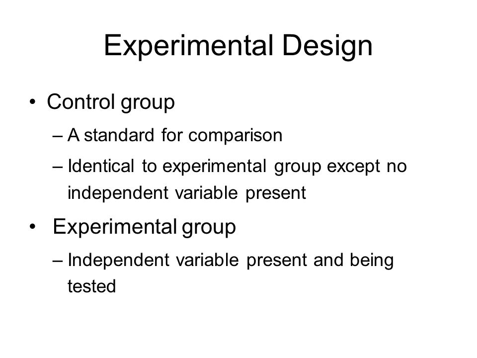 experimental and control groups pdf