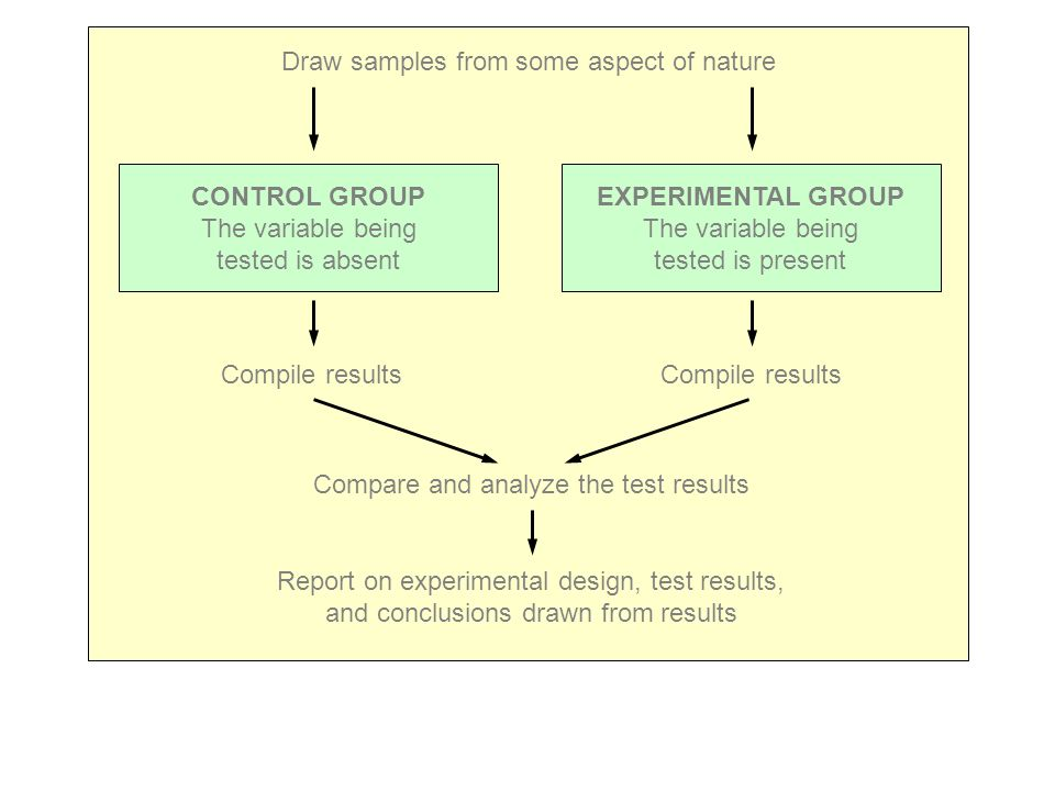 CONTROL GROUP EXPERIMENTAL GROUP