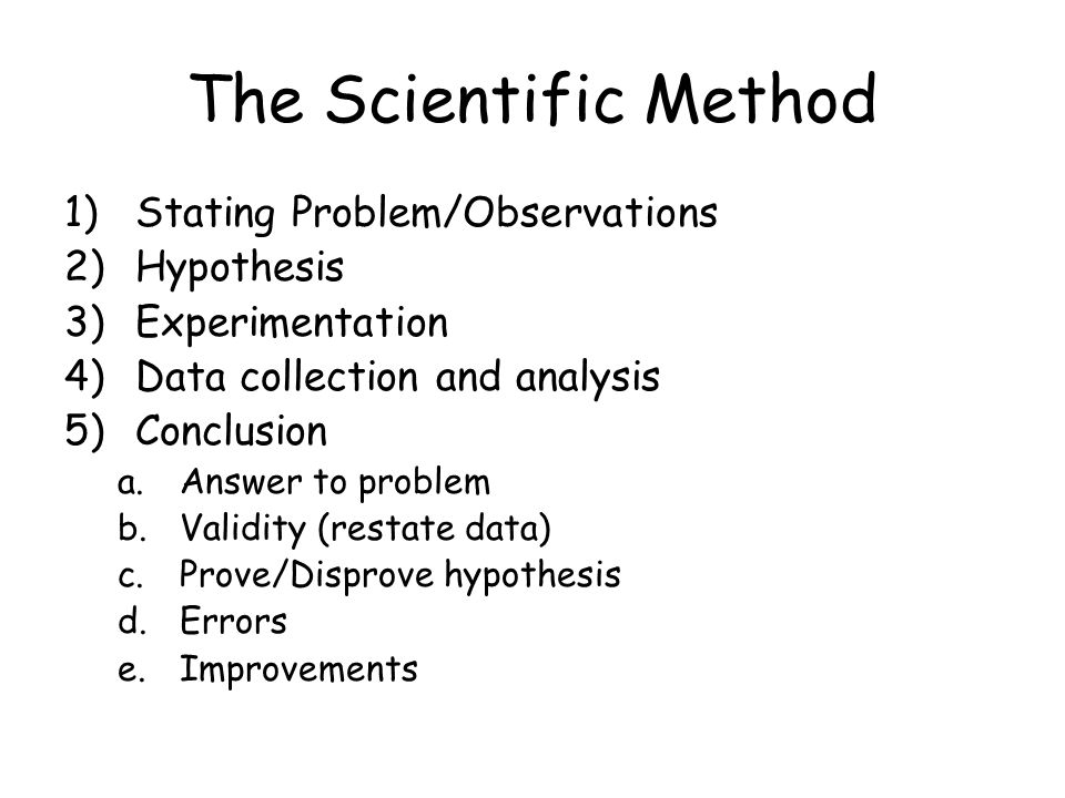 The Science of Biology Chapter ppt download Qualitative Data Analysis Process