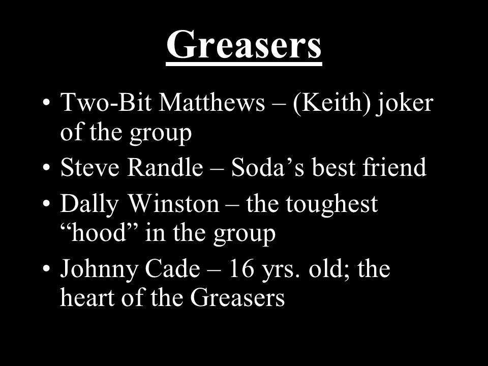 The Outsiders By S E Hinton Ppt Video Online Download