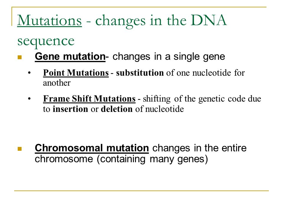 {Gene Mutations Worksheet Answers – Gene Mutation Worksheet