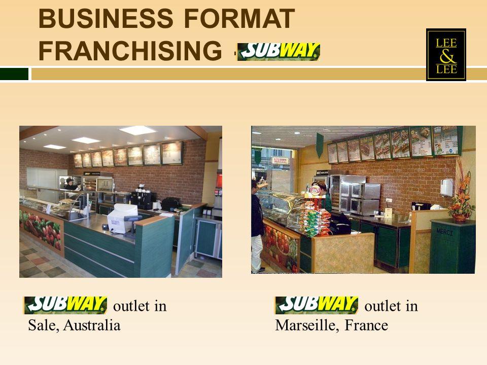 BUSINESS FORMAT FRANCHISING -