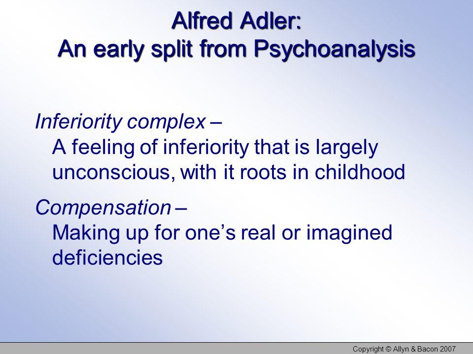 Alfred Adler: An early split from Psychoanalysis