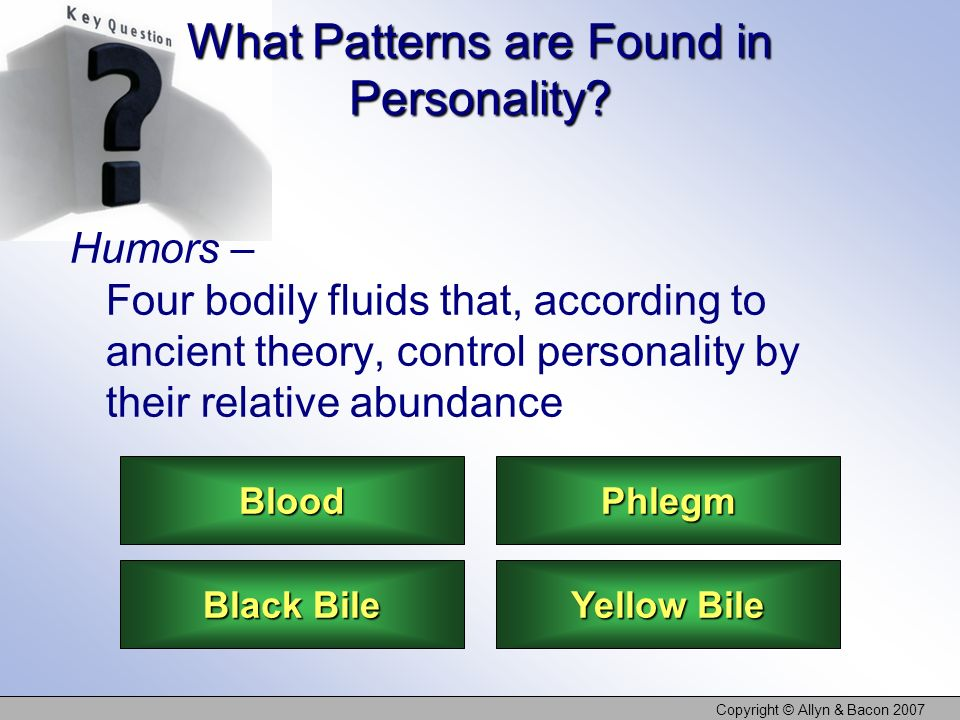 What Patterns are Found in Personality
