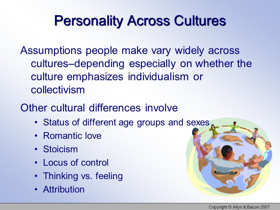 Personality Across Cultures