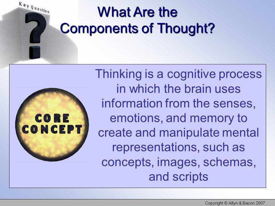 What Are the Components of Thought