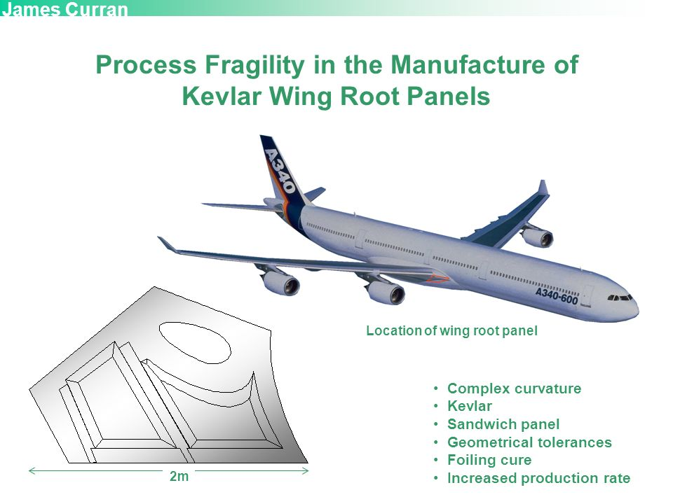 Process Fragility in the Manufacture of Kevlar Wing Root Panels