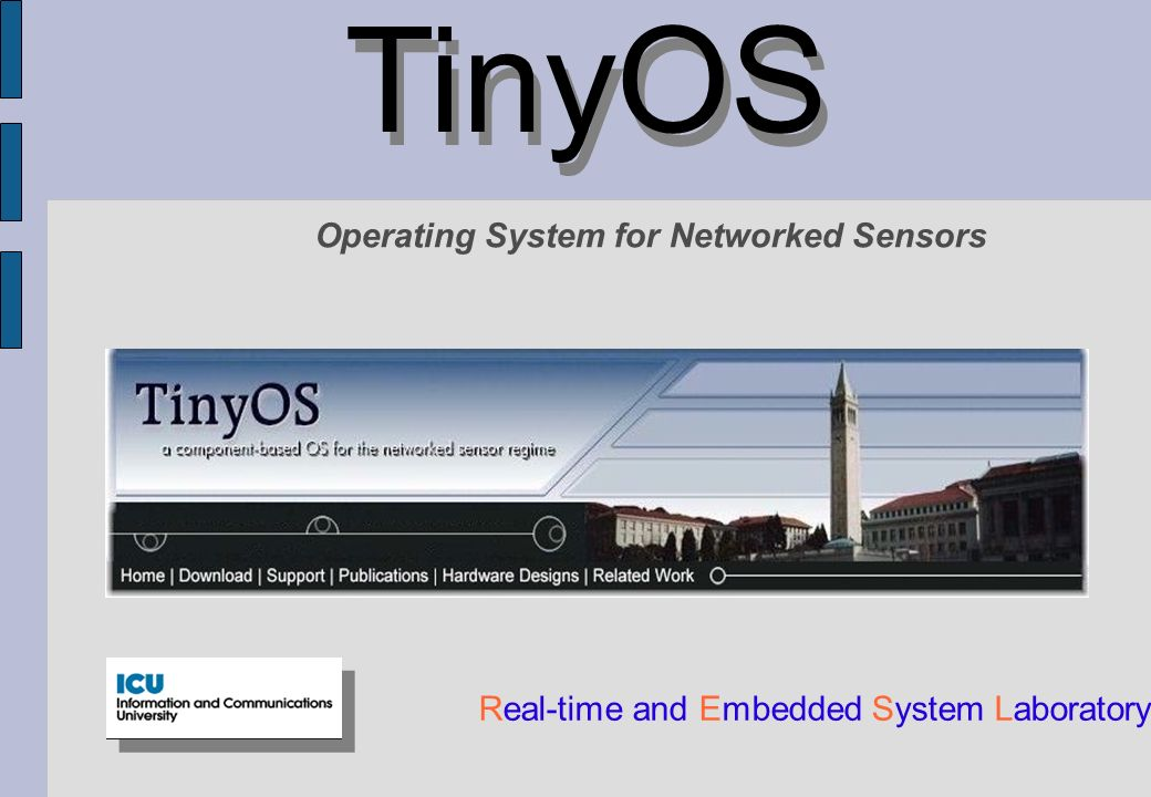 TinyOS Operating System for Networked Sensors
