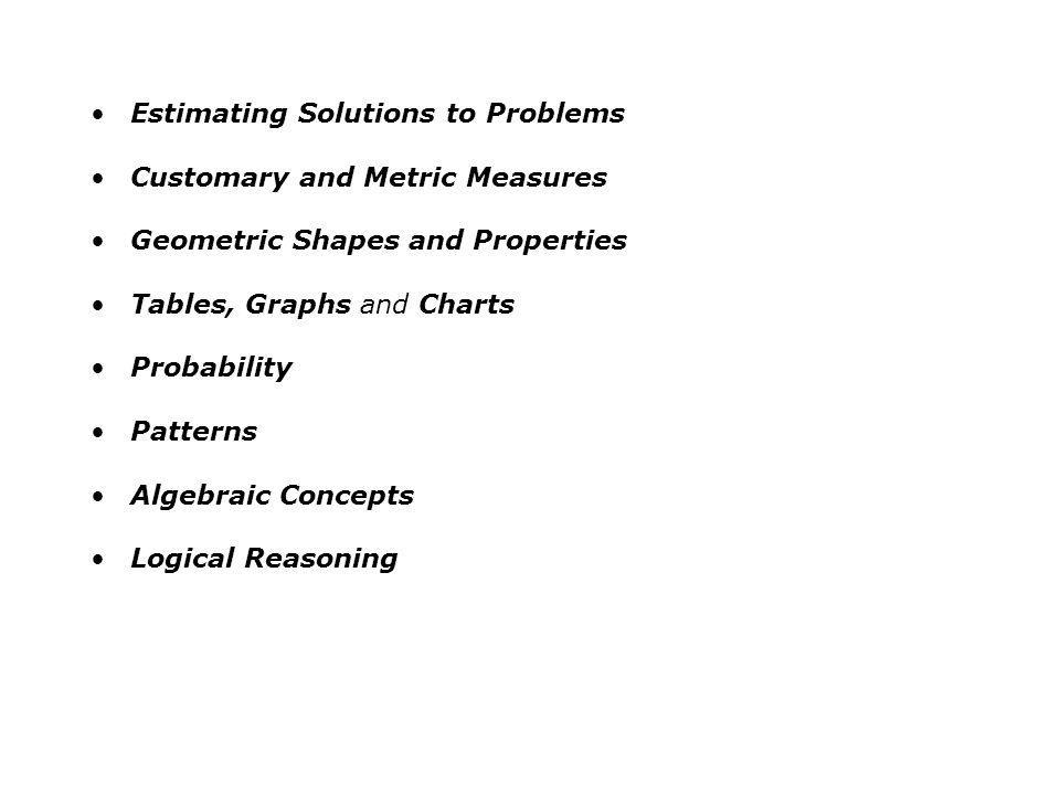Estimating Solutions to Problems