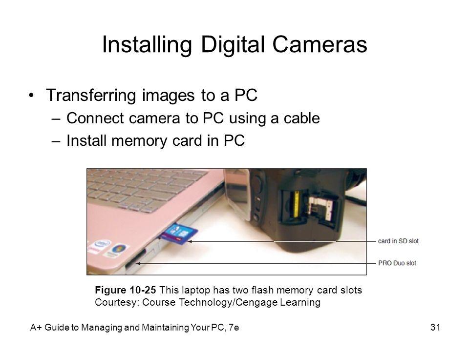 Installing Digital Cameras